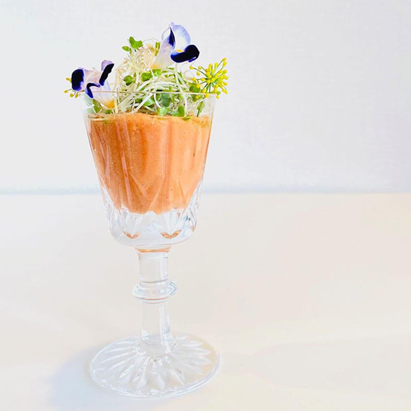 パイントマトカレーRAWスープ
